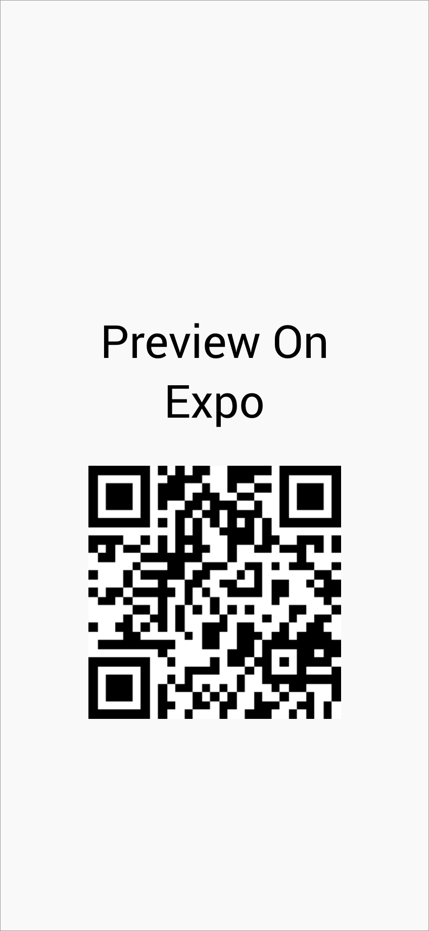 Scan To Open In Expo